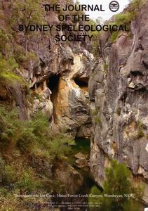 The Journal of the Sydney Speleological Society
